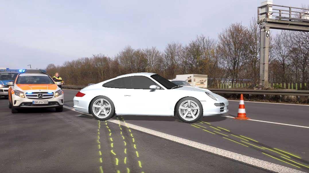 Porsche Unfall Köln 555