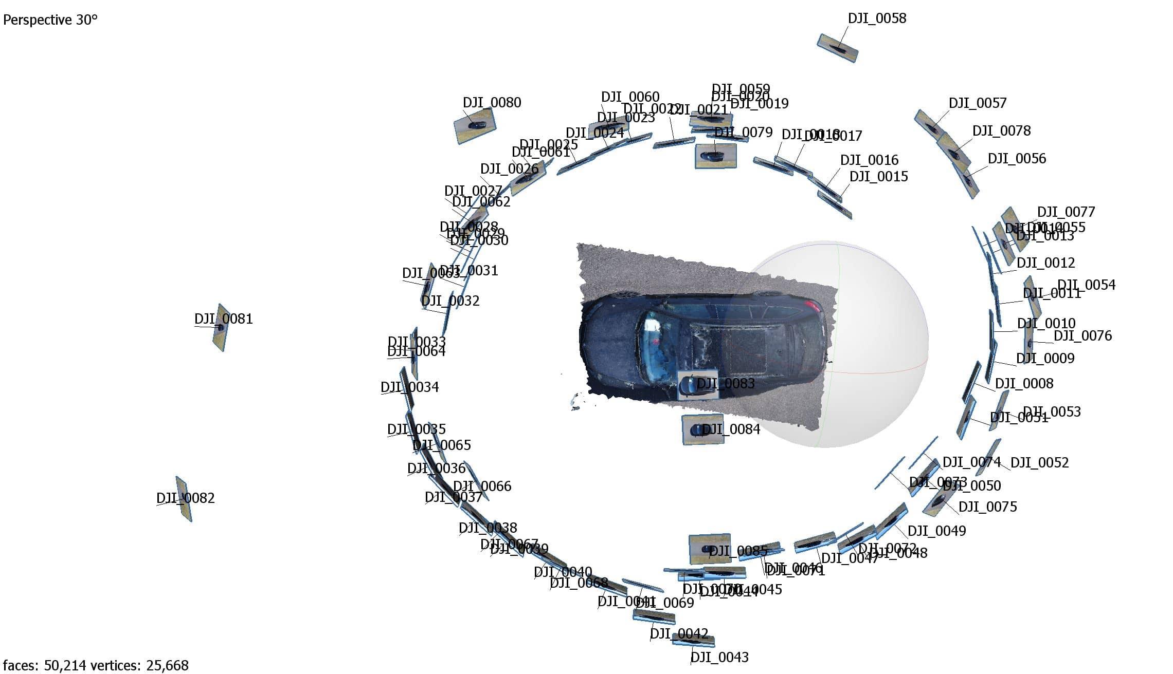 3D Vermessung Fahrzeug