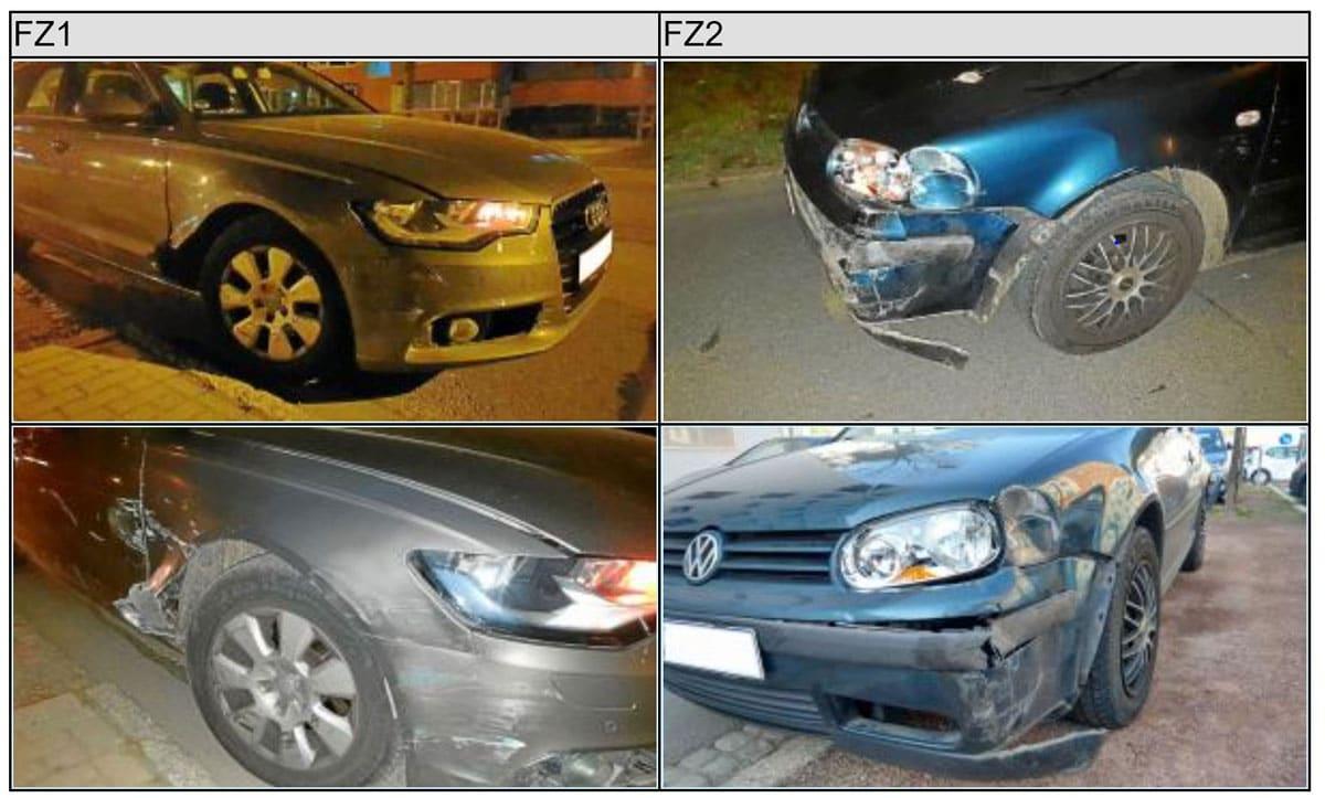 Unfall Auto EES Wert